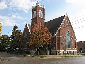 St. Paul Methodist Episcopal Church (Rushville, Indiana) - St. Paul Methodist Church, November 2009