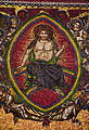 St. Vitus Cathedral, Jesus Christ mosaic 2.jpg