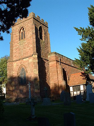 Old Arley - Image: St. Wilfrid's Church, Old Arley geograph.org.uk 69035