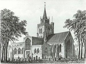 St Mary the Virgin's Church, Aylesbury - St Mary's Church, Aylesbury (1869)