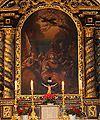 St Achatiusmatyrium Altarbild Oberulrain Stadt Neustadt an der Donau Lkr Kelheim Niederbayern.JPG