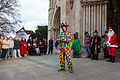 St Albans Mummers production of St George and the Dragon, Boxing Day 2015-5.jpg