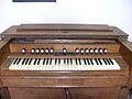St Andrew's church Alderton Suffolk - Church Organ (harmonium).jpg