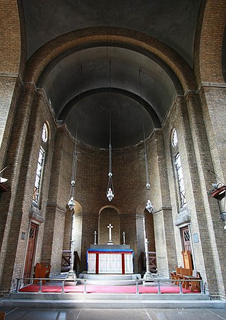 Charles Herbert Reilly - St Barnabas, Shacklewell, Reilly's favourite of his own buildings