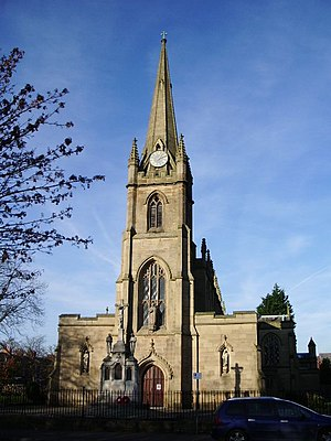 Syro-Malabar Cathedral of St. Alphonsa, Preston - Image: St Ignatius' Roman Catholic Church, Preston geograph.org.uk 614949