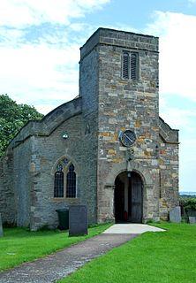 Owthorpe village in United Kingdom