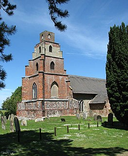 Burgh St Peter Human settlement in England