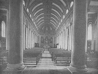 St Mel's cathedral, Longford - Image: St Mel's Cathedral C19 interior