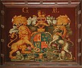 St Michael, Begbroke, Oxon - Royal Arms - geograph.org.uk - 1633243.jpg