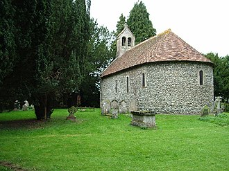 Nately Scures - Image: St Swithun's Church, Nately Scures