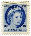 Stamp Canada 1954 5c QE2.jpg
