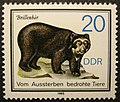 Stamp GDR 1985 20pf bear.jpg