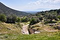 Standing over the Tholos Tomb of Clytemnestra at Mycenae.jpg