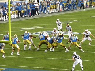 2010 Stanford Cardinal football team - Stanford Cardinal visits UCLA Bruins in the Rose Bowl