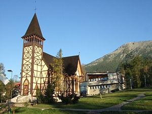 Starý Smokovec - Image: Starý Smokovec church