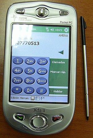 PDA / Teléfono móvil Amena Xda II (un HTC Hima...
