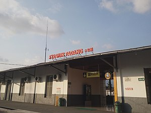 Stasiun Padang Wikipedia Bahasa Indonesia Ensiklopedia Bebas
