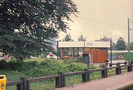 Station Beek-Elsloo in 1988