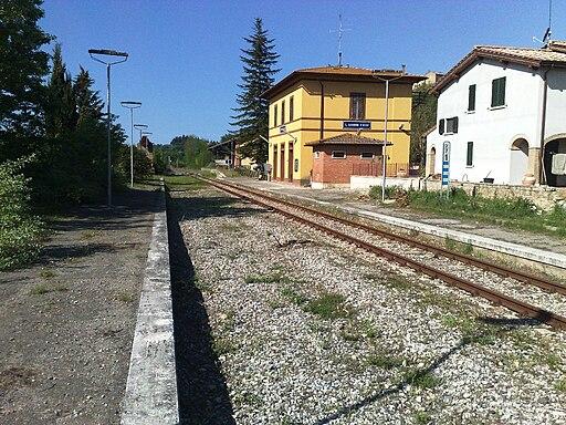 Stazione SGDA vista d'insieme