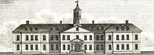 Dr Steevens' Hospital - Dr. Steevens' Hospital in 1800