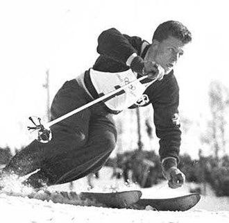 Stein Eriksen - Eriksen at the 1952 Olympics
