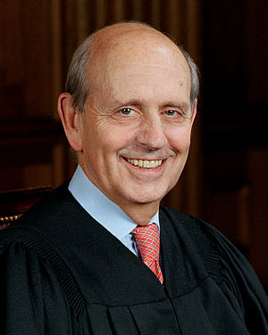 Official portrait of Supreme Court Justice Ste...