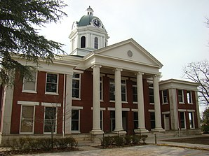 Stephens County Courthouse, gelistet im NRHP Nr. 80001232[1]