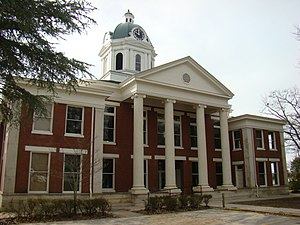 Toccoa, Georgia - Stephens County Courthouse in Toccoa