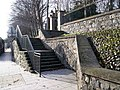 Steps leading to the walkway - geograph.org.uk - 673862.jpg