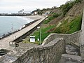 Steps up to the East Cliff from the beach - geograph.org.uk - 1579563.jpg
