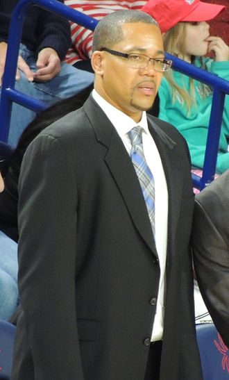 Steve Woodberry - Woodberry coaching a game in December 2014.