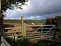 Stile and gate, Venton Cross - geograph.org.uk - 1575336.jpg