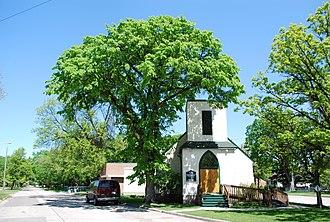 Elm Park, Winnipeg - St. Mark's Anglican Church in Elm Park