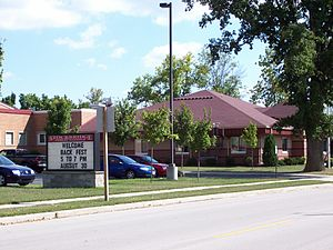 Stockbridge, Wisconsin - Stockbridge High School