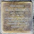 Stolperstein Bleibtreustr 33 (Charl) Paula Fraenkel.jpg