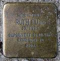 Stolperstein Fehrbelliner Str 81 (Mitte) Ruth Fuss.jpg