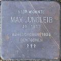 Stolperstein Köln, Max Jungleib (Fleischmengergasse 24).jpg