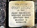 Stolperstein Landau Oskar Sonnenwall 43 Duisburg-Altstadt.jpg