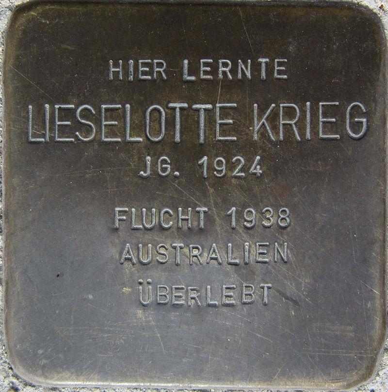 Stolperstein Pforzheim Krieg Lieselotte.jpeg