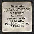 Stolperstein für Berta Slatnerová.JPG
