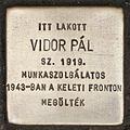 Stolperstein für Pál Vidor.JPG