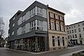Stralsund, Am Fischmarkt, Ecke Badenstraße 24 25 (2012-03-18), by Klugschnacker in Wikipedia.jpg