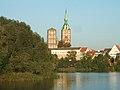 Stralsund, Germany, Nikolaikirche von den Weißen Brücken aus gesehen (2006-09-12).JPG