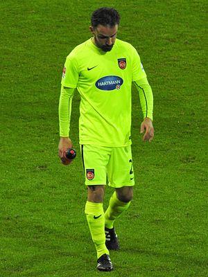 Robert Strauß - Strauß with 1. FC Heidenheim in 2017