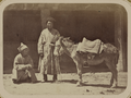 Street Types of Central Asian Cities. Two Men with a Donkey WDL11120.png