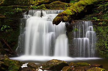 Waterfall photography with a ND filter