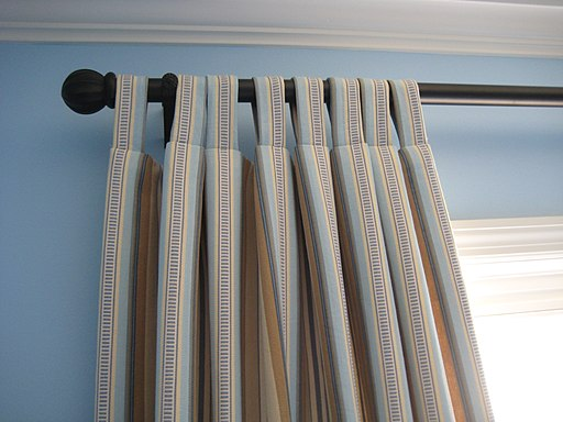 Striped Tab Top Curtains