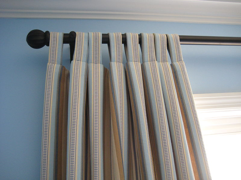 File:Striped Tab Top Curtains.jpg