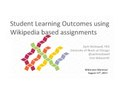 Student Learning Outcomes Using Wikipedia Based Assignments.pdf
