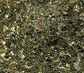 Sulfidic bronzitite (platinum-palladium ore) Stillwater Mine MT.jpg